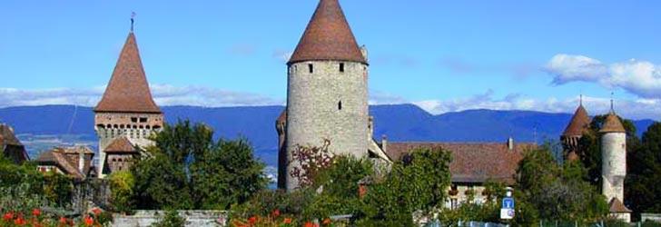 Estavayer chateau Suisse